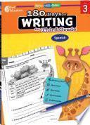 180 Days of Writing for Third Grade (Spanish) ebook