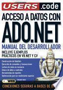 Acceso a Datos Con ADO.NET - Manual del Desarrollador