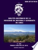 Boletín Histórico de la Sociedad de Historia y Geografía de Chile. Tomo XVII