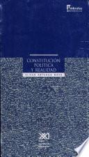 Constitución política y realidad