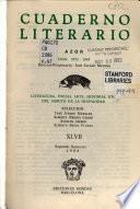 Cuaderno literario Azor