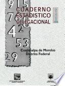 Cuajimalpa de Morelos Distrito Federal. Cuaderno estadístico delegacional 1998