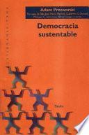 Democracia sustentable
