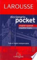 Diccionario Pocket English-Spanish, español-inglés