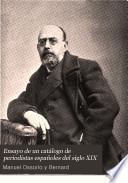 Ensayo de un catálogo de periodistas españoles del siglo XIX