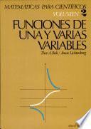 funciones de unay varias variables