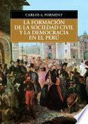 La formación de la sociedad civil y la democracia en el Perú