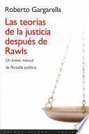 Las teorías de la justicia después de Rawls