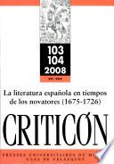 Literatura Espanola en Tiempos de Los Novato, la
