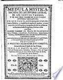 Medula Mystica ...
