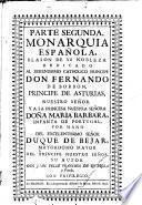 Monarquia Española, Blason de su Nobleza