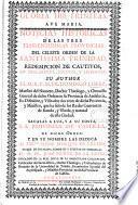Noticias historicas de las tres florentissimas provincias del celeste Orden de la Santissima Trinidad, redempcion de cautivos, en Inglaterra, Escocia, y Hybernia
