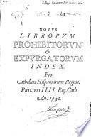 Novus index librorum prohibitorum et expurgatorum