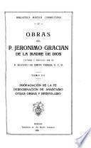 Obras del p. Jerónimo Gracián de la Madre de Dios