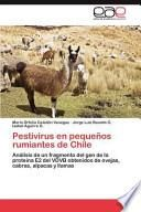 Pestivirus en Pequeños Rumiantes de Chile