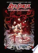Red Sonja La balada de la diosa roja (creación propia)