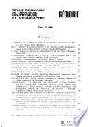 Revue roumaine de géologie, géophysique et géographie